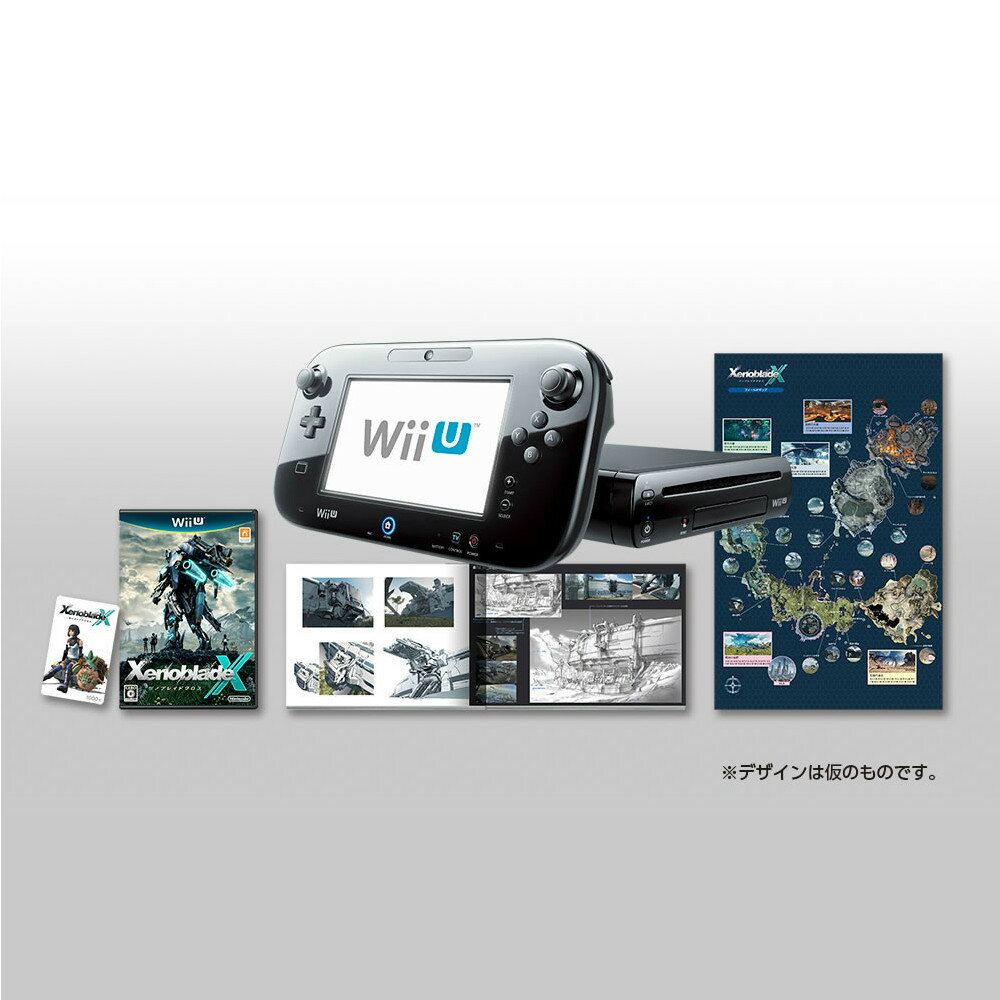 【中古】[本体][WiiU]Wii U ゼノブレイドクロス セット(XenobladeX Set)(WUP-S-KAGL)(20150429)