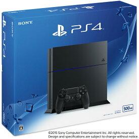 【中古】[本体][PS4]プレイステーション4 PlayStation4 HDD500GB ジェット・ブラック(CUH-1200AB01)(20150627)