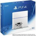 【中古】[本体][PS4]プレイステーション4 PlayStation4 HDD500GB グレイシャー・ホワイト(CUH-1200AB02)(20150627...