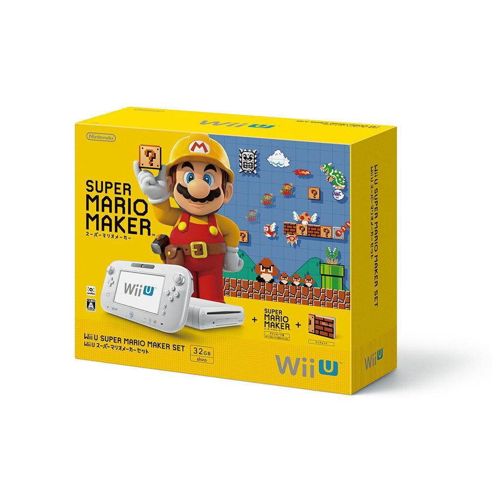 【中古】[本体][WiiU]Wii U スーパーマリオメーカー セット(WUP-S-WAHA)(20150910)