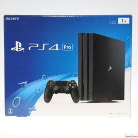 【中古】[本体][PS4]プレイステーション4 プロ PlayStation4 Pro 1TB ジェット・ブラック(CUH-7000BB01)(20161110)