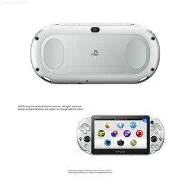【中古】[本体][PSVita]PlayStationVita Wi-Fiモデル シルバー(PCH-2000ZA25)(20161201)