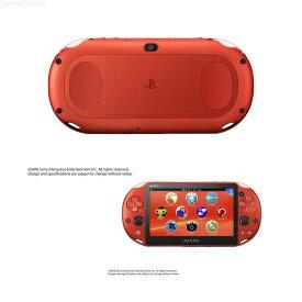 【中古】[本体][PSVita]PlayStationVita Wi-Fiモデル メタリック・レッド(PCH-2000ZA26)(20161201)