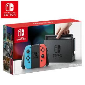 【中古】[本体][Switch]Nintendo Switch(ニンテンドースイッチ) Joy-Con(L) ネオンブルー/(R) ネオンレッド(HAC-S-KABAA)(20170303)