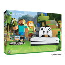 【中古】[本体][XboxOne]Xbox One S 500GB Minecraft 同梱版(ZQ9-00068)(20170126)