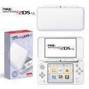 【中古】[本体][3DS]Newニンテンドー2DS LL ホワイト×ラベンダー(JAN-S-UAAA)(20171005)