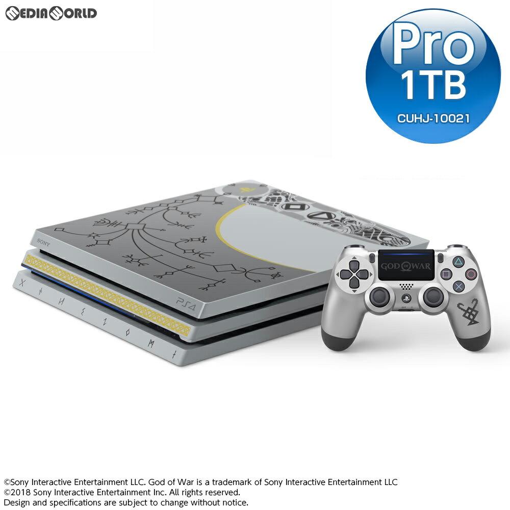 【中古】[本体][PS4]プレイステーション4 プロ PlayStation4 Pro ゴッド・オブ・ウォー(God of War) リミテッドエディション(CUHJ-10021)(20180420)