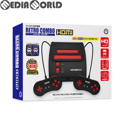 【新品即納】[本体][SFC]FC/SFC用互換機 レトロコンボHDMI(RETRO COMBO HDMI) コロンバスサークル(CC-RETCH-BK)(20180531)