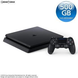 【中古】[本体][PS4]プレイステーション4 PlayStation4 ジェット・ブラック 500GB(CUH-2200AB01)(20180712)