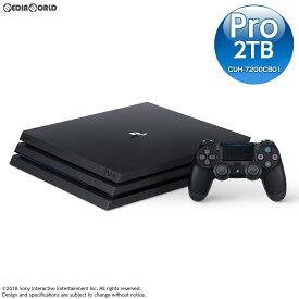 【中古】[本体][PS4]プレイステーション4 プロ PlayStation4 Pro ジェット・ブラック 2TB(CUH-7200CB01)(20181121)
