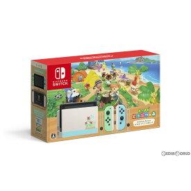 【中古】[本体][Switch](ソフト無し)Nintendo Switch(ニンテンドースイッチ) あつまれ どうぶつの森セット(HAD-S-KEAGC)(20200320)