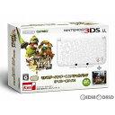 【中古】[本体][3DS]モンスターハンター4 スペシャルパック (アイルーホワイト)(SPR-S-WJCD)(3DSLL本体同梱版)(201309…