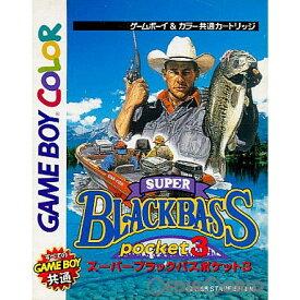 【中古】[GBC]スーパーブラックバス ポケット3(Super Black Bass Pocket 3)(19981127)
