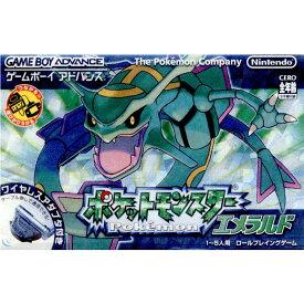 【中古】[GBA]ポケットモンスター エメラルド(ワイヤレスアダプタ同梱版)(20040916)
