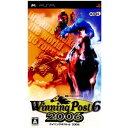 【中古】[PSP]WinningPost6 2006(ウイニングポスト6 2006)(20060824)【RCP】