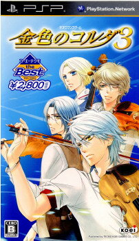 【中古】[PSP]コーエーテクモ the Best 金色のコルダ3(ULJM-06010)(20111215)