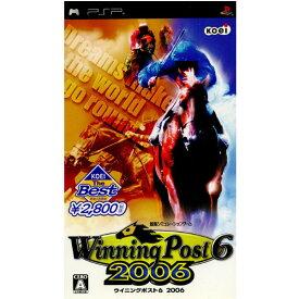 【中古】【表紙説明書なし】[PSP]KOEI The BEST Winning Post 6(ウイニングポスト6) 2006(ULJM-05312)(20071227)