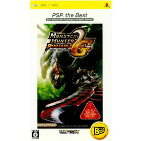 【中古】【表紙説明書なし】[PSP]モンスターハンターポータブル 2nd G PSP the Best(ULJM-08019)(20081030)