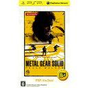 【中古】[PSP]METAL GEAR SOLID PEACE WALKER(メタルギア ソリッド ピースウォーカー) PSP the Best(ULJM-08...