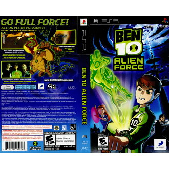 [PSP]Ben 10 Alien Force(本10外國人力量)(北美版)(ULUS-10387)(20081103)