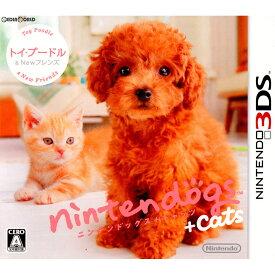 【中古】[3DS]nintendogs+cats(ニンテンドッグス+キャッツ) トイ・プードル&Newフレンズ(20110226)