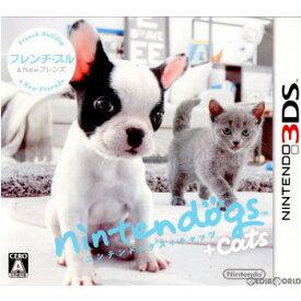 【中古】[3DS]nintendogs+cats(ニンテンドッグス+キャッツ) フレンチ・ブル&Newフレンズ(20110226)