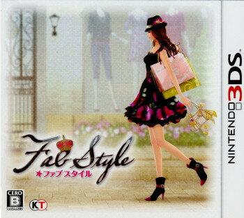 【中古】【表紙説明書なし】[3DS]FabStyle(ファブスタイル) 通常版(20111124)