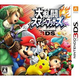 【中古】[3DS]大乱闘スマッシュブラザーズ for ニンテンドー3DS(スマブラ3DS)(20140913)