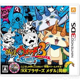 【中古】[3DS]妖怪ウォッチ3 スシ(妖怪ドリームメダル「KKブラザーズメダル」同梱)(20160716)