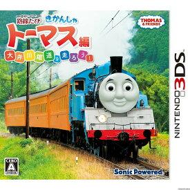 【中古】[3DS]鉄道にっぽん! 路線たび きかんしゃトーマス編 大井川鐵道を走ろう!(20160728)