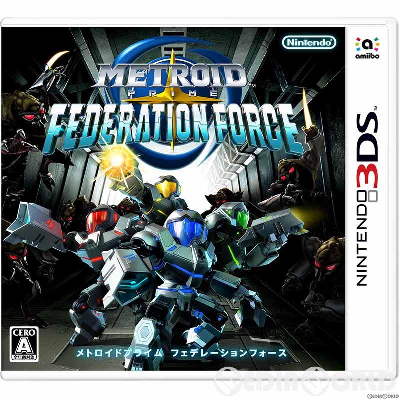 【中古】[3DS]メトロイドプライム フェデレーションフォース(20160825)