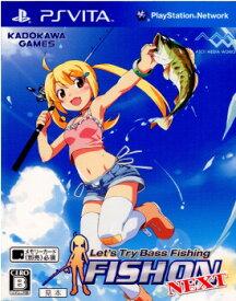 【中古】[PSVita]フィッシュオン ネクスト(Lets Try Bass Fishing FISH ON NEXT)(20120329)
