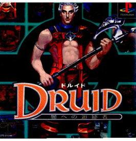 【中古】【表紙説明書なし】[PS]DRUID(ドルイド) 闇への追跡者(19980219)