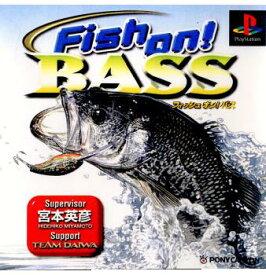 【中古】【表紙説明書なし】[PS]Fish on! BASS(フィッシュオン!バス)(19990922)