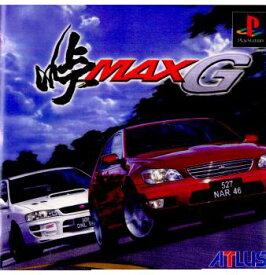 【中古】【表紙説明書なし】[PS]峠MAX G(峠マックス G)(20000113)