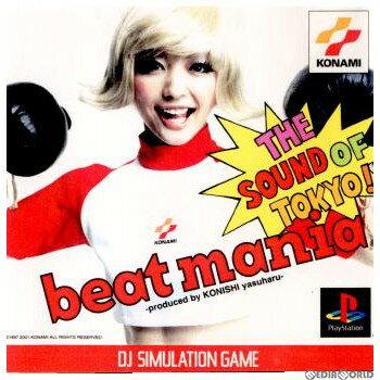 【中古】【表紙説明書なし】[PS]beatmania THE SOUND OF TOKYO!(ビートマニア ザ サウンド オブ トーキョー) -produced by KONISHI yasuharu-(20010329)