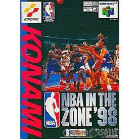 【中古】【表紙説明書なし】[N64]NBA IN THE ZONE'98(インザゾーン'98)(19980129)