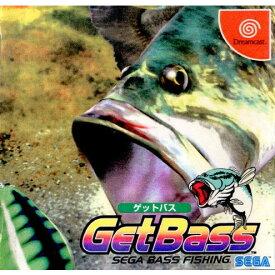 【中古】【表紙説明書なし】[DC]GetBass(ゲットバス) SEGA Bass Fishing 通常版(19990401)