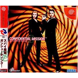 【中古】【表紙説明書なし】[DC]CONFIDENTIAL MISSION(コンフィデンシャル ミッション)(20010614)