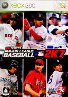 [Xbox360]美国职业棒球大联盟棒球2K7(Major League Baseball 2K7)(20071108)