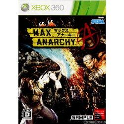 【中古】[Xbox360]マックスアナーキー(MAXANARCHY)(20120705)【RCP】