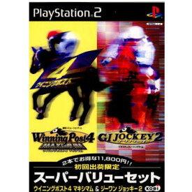【中古】【表紙説明書なし】[PS2]ウイニングポスト4 MAXIMUM&ジーワンジョッキー 初回同梱版(20001102)
