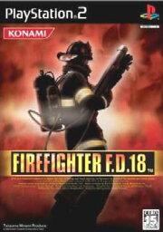 [中古][沒有封面說明書][PS2]FIREFIGHTER(火戰士)F.D.18(20040226)