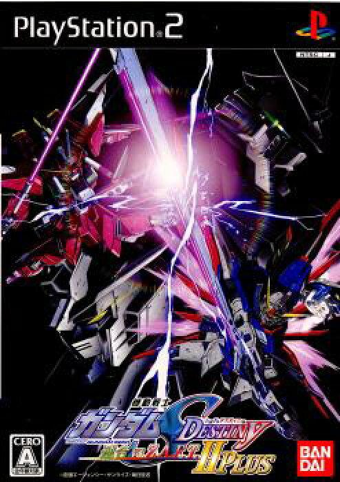 【中古】[PS2]機動戦士ガンダムSEED DESTINY(ガンダムシードデスティニー) 連合vs.Z.A.F.T.II PLUS(連合vsザフト2プラス)(20061207)