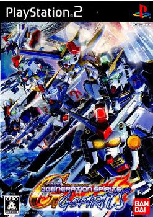 【中古】[PS2]SDガンダム ジージェネレーション スピリッツ(GGENERATION SPIRITS)(20071129)
