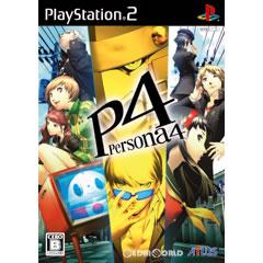 【中古】【表紙説明書なし】[PS2]ペルソナ4(Persona4/P4)(20080710)