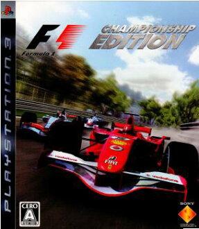 [PS3]FORMULA ONE CHAMPIONSHIP EDITION(公式一冠軍版本)(20061228)
