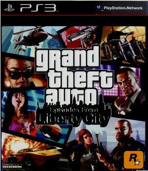 【最大ポイント10倍! 11月25日10時スタート!】【中古】【表紙説明書なし】[PS3]Grand Theft Auto: episode from Liberty City(グランド・セフト・オート:エピソード・フロム・リバティーシティ)(アジア版)(BLAS-50197)(20100413)