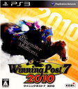 【中古】[PS3]Winning Post 7(ウイニングポスト7) 2010(20100922)【RCP】