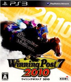 【中古】【表紙説明書なし】[PS3]Winning Post 7 2010(ウイニングポスト 7 2010)(20100922)